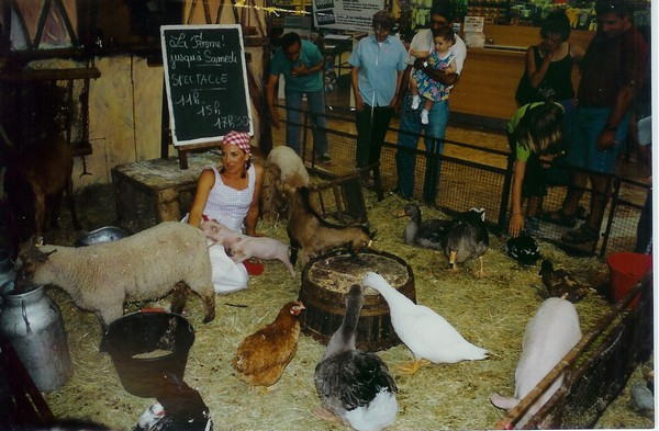 La ferme de Tiligolo installee dans la galerie marchande