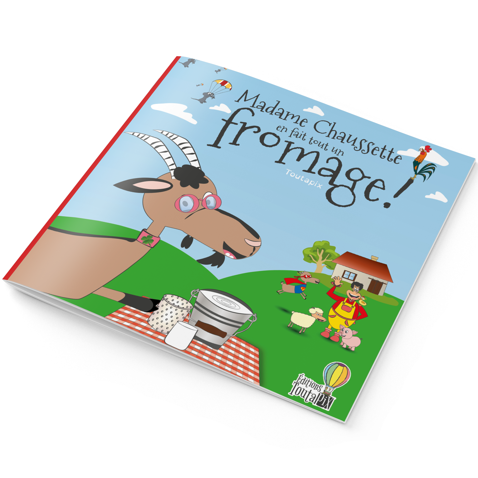 Couverture du livre du spectacle de la ferme de Tiligolo