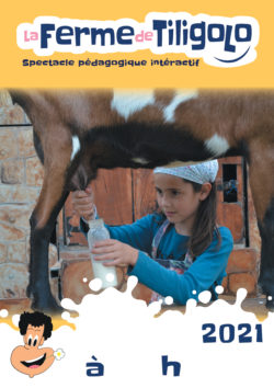 Affiche spectacle Tiligolo dans les ecoles